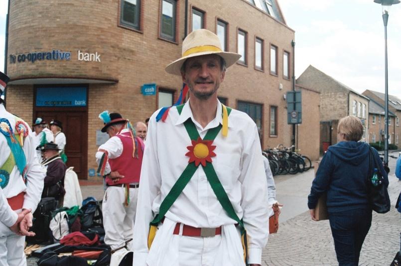 Morris dancer, Cambridge