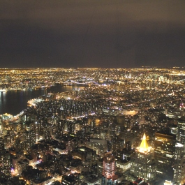 View from the Empire State