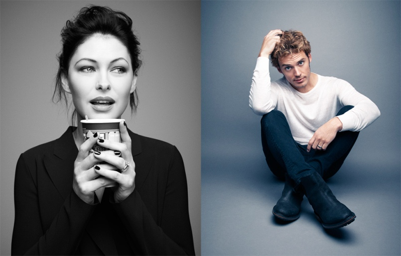 Emma Willis & Sam Claflin