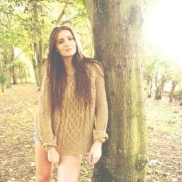 Gosia in Autumn, copyright Alannah Lucy Messett