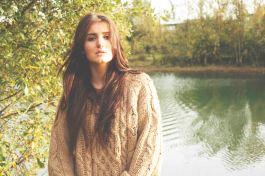 Gosia in Autumn, copyright Alannah Lucy Messett