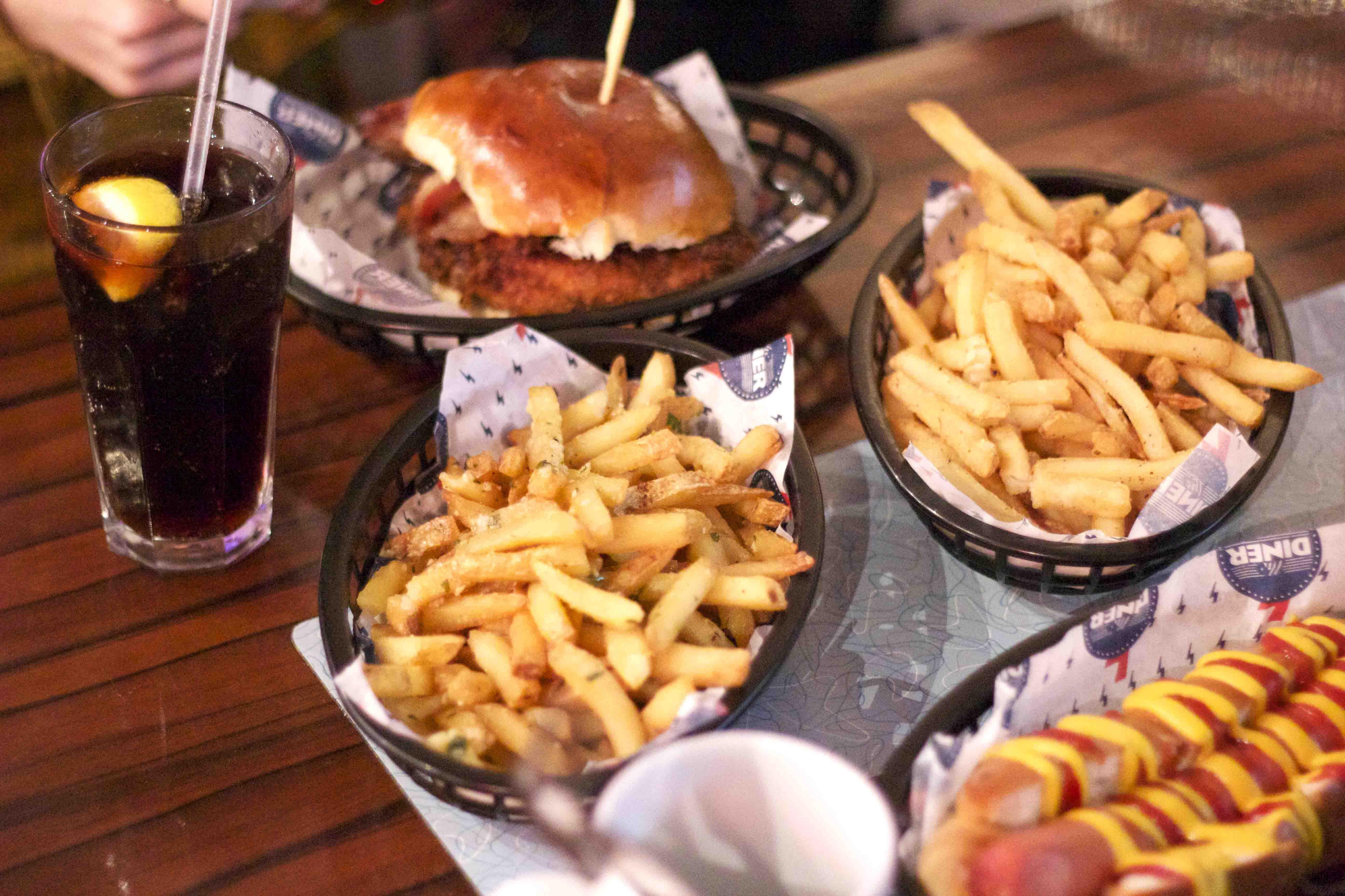 The Diner, Spitalfields
