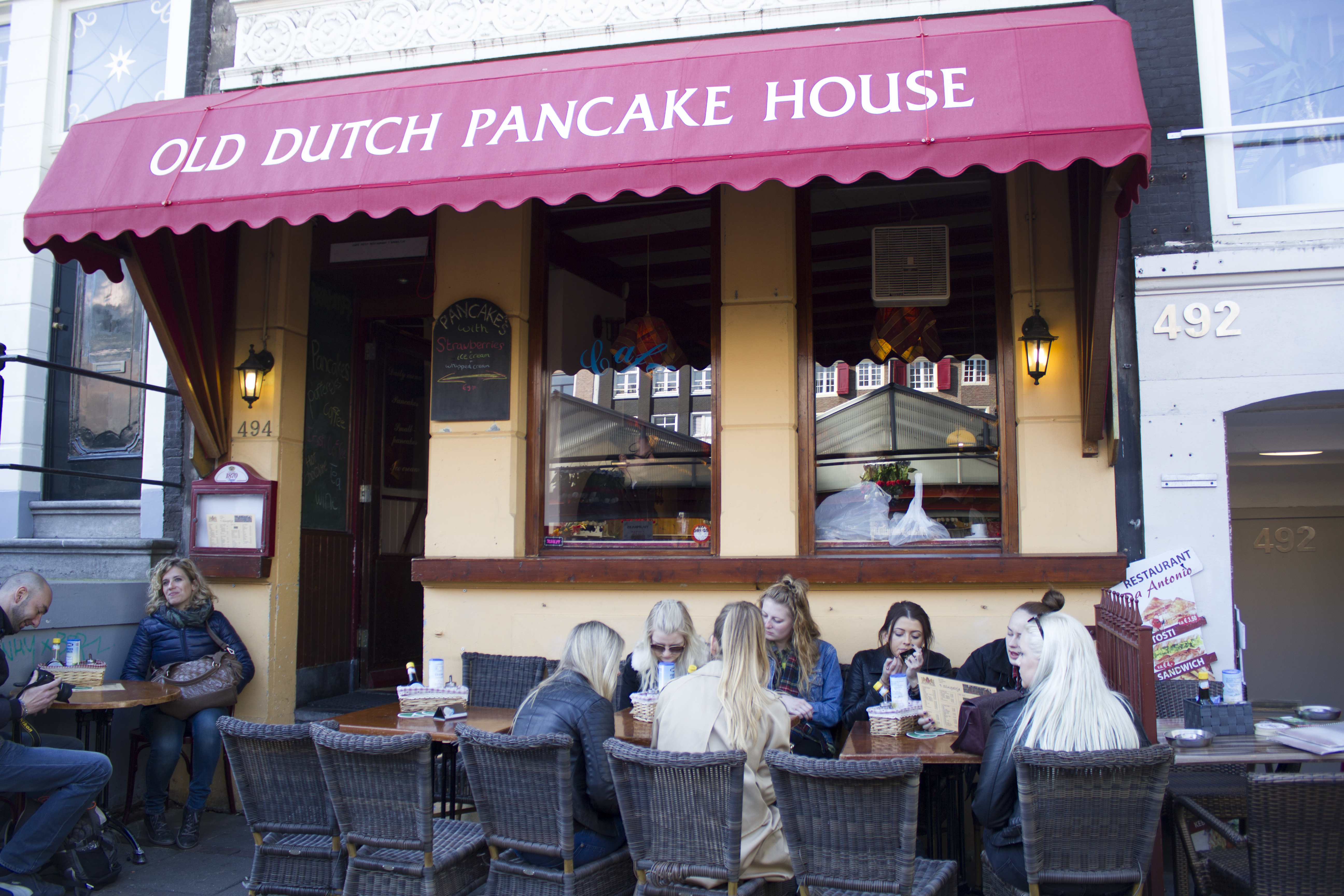 The best pancakes!