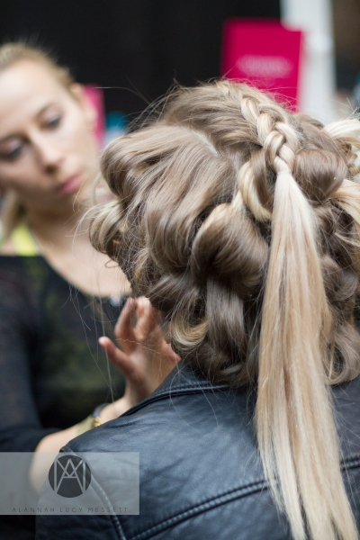 Graduate Fashion Week 2015 - Behind The Scenes at Nottingham Trent University's show